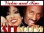 Vickie Winans and Tim Bowman